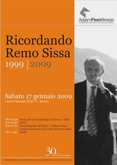 "Copertina ""Ricordando Remo Sissa"""